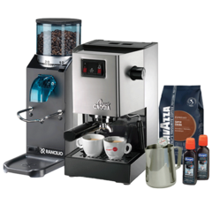 Gaggia Classic and Rocky Essentials - Doserless