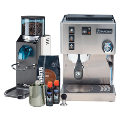 Rancilio Silvia M and Rocky Doserless Essentials Pack