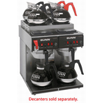 Bunn twin 12 cup coffee brewer
