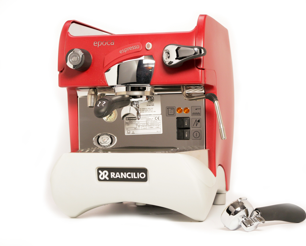 Electronic Rancilio Coffee Machine For Sale rancilio epoca st 1 espresso machine in red whole latte love