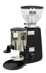 Mazzer Mini Coffee Grinder in Black.