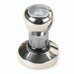 Convex 58mm Stainless Steel Tamper