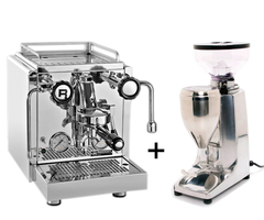 The Rocket Espresso R58 and Quamar M80 on Demand Grinder.