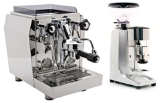 Giotto Evoluzione V2 and Quamar M80 Manual in silver.