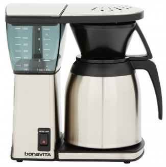 Coffee Maker With Thermal Carafe And Single Serve : Bonavita BV1800SS Thermal Carafe Coffee Brewer - Lavazza USA