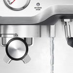 Breville the infuser steam wand closeup