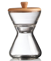 Chemex handblown cream sugar set
