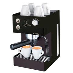 saeco aroma black espresso machine