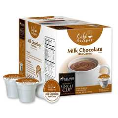 Café Escapes Milk Chocolate Hot Cocoa K-Cup® Packs