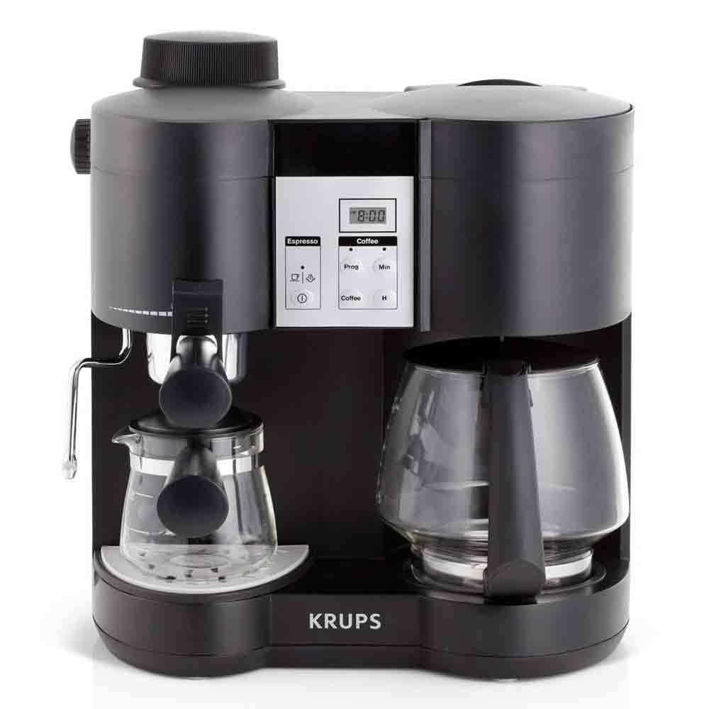 Electronic Steam Coffee Machine krups xp160050 combi steam espresso machine and coffee maker whole latte love