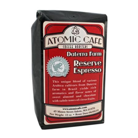 Atomic Café Daterra Farm Reserve Espresso