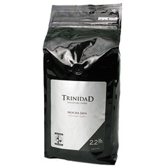 Trinidad Coffee Mocha Java 2.2LB Whole Bean