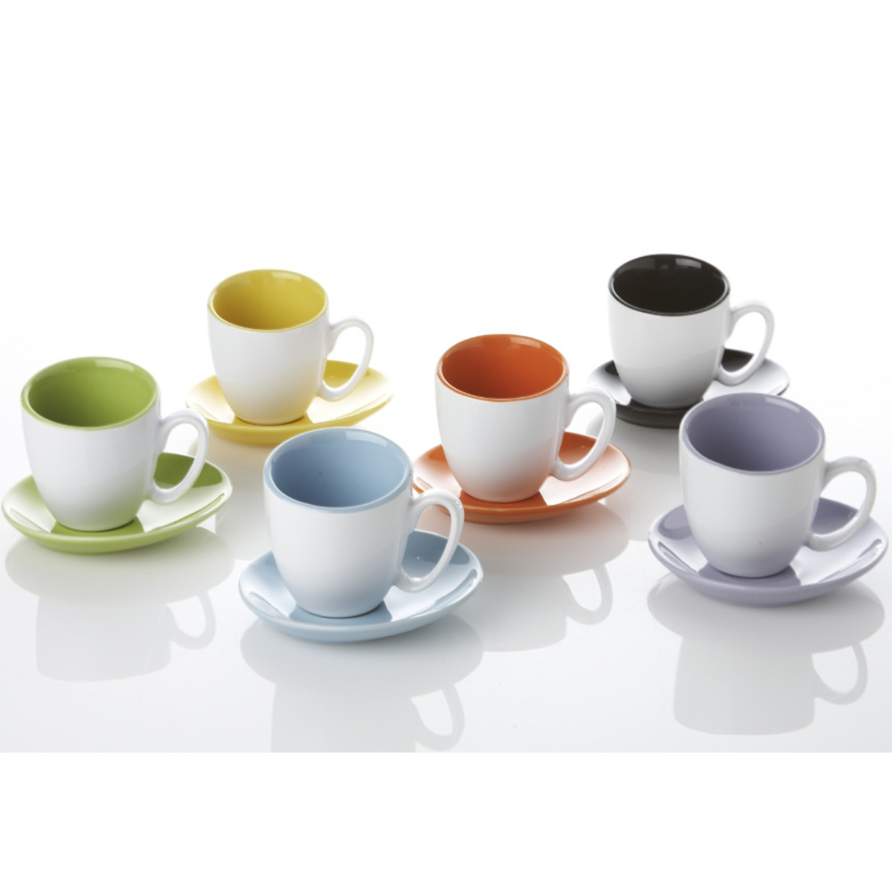 Yedi Espresso Cup and Saucer Set