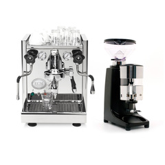 ECM Mechanika IV & Quamar M80 Manual Grinder in Black