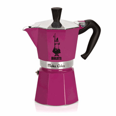 Bialetti Moka Express Moka Color Stovetop Coffeemaker in Purple