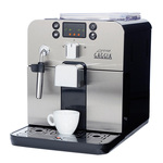 Gaggia-brera-espresso-machine-in-black-left