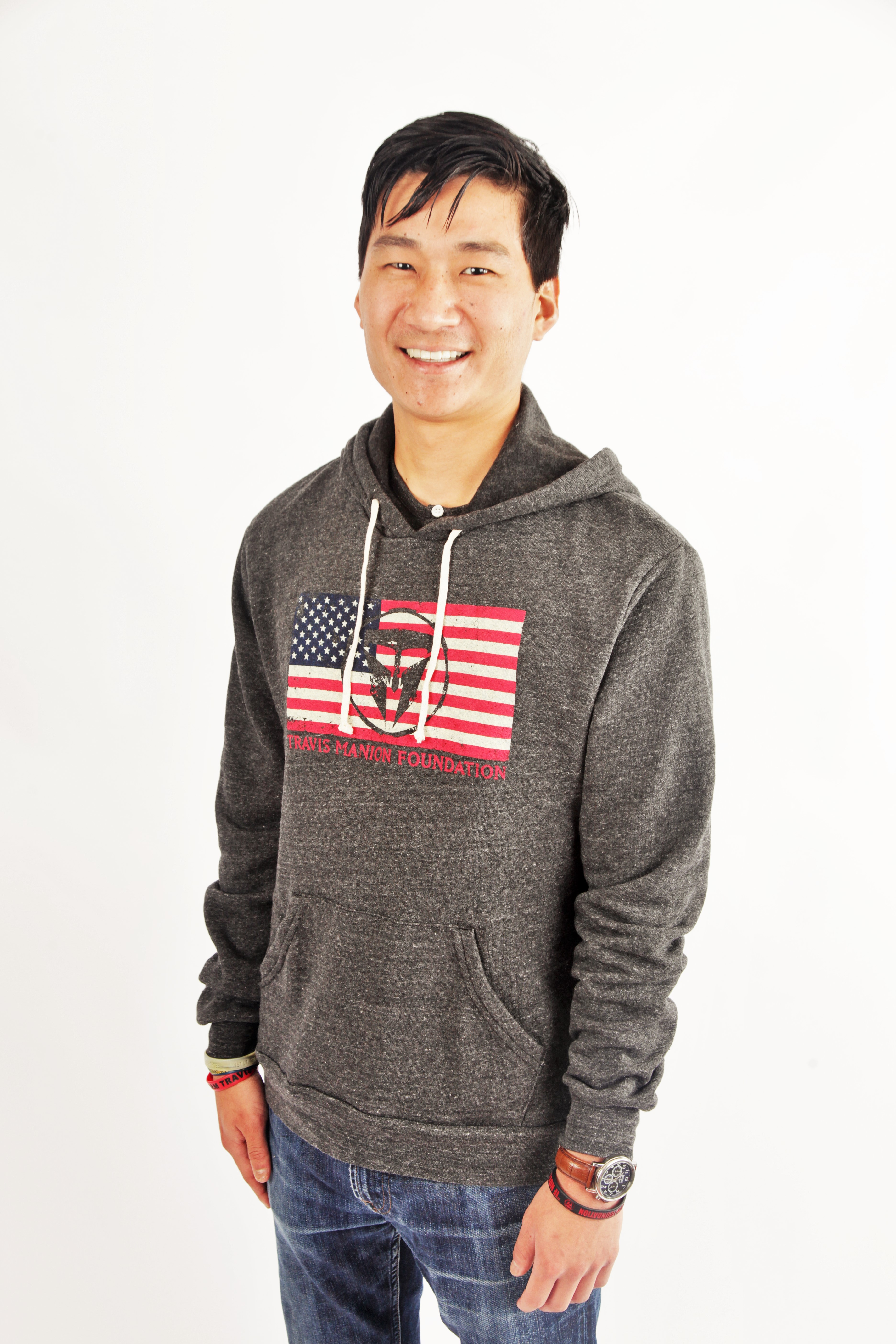 Travis Manion Foundation Mens Challenger Eco Fleece Pullover Hoodie