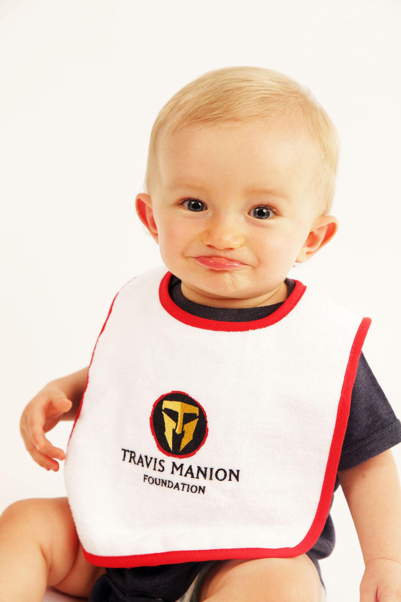 Travis Manion Foundation Infant Contrast Terry Bib