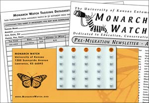 Monarch Watch Tagging Kit