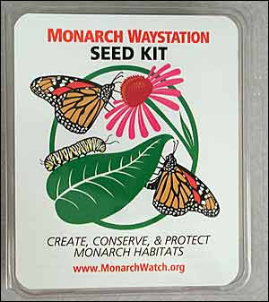 Monarch Waystation Seed Kit