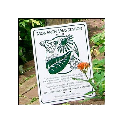 Monarch Watch Waystation Certification Sign