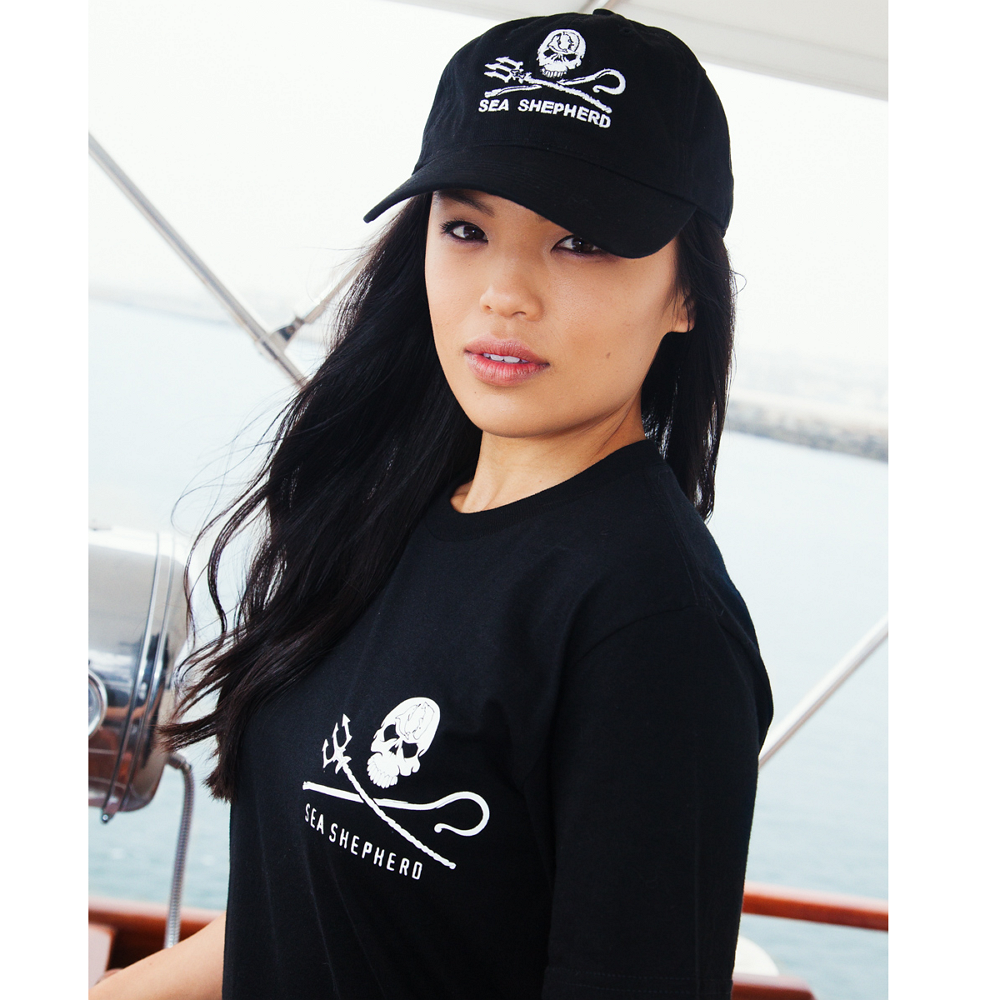 Sea Shepherd Jolly Roger Cap - 100% Organic Cotton