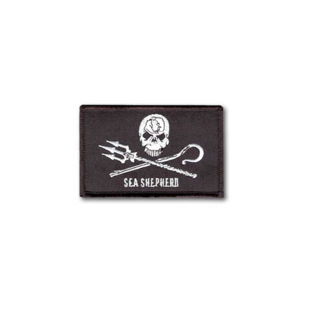 Sea Shepherd Jolly Roger Patch