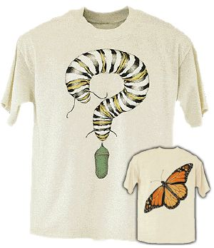 Monarch Metamorphosis T-shirt Youth