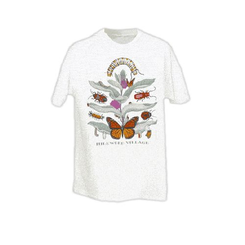 Monarch Watch Milkweed Village T-shirt Adult