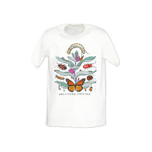 Monarch Watch Milkweed Village T-shirt Youth