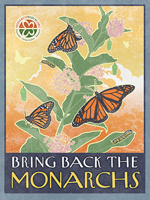 Bring Back The Monarchs Poster