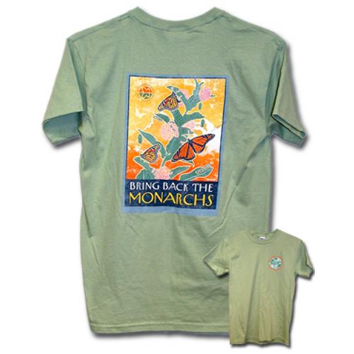 Monarch Watch Bring Back the Monarchs T-Shirt