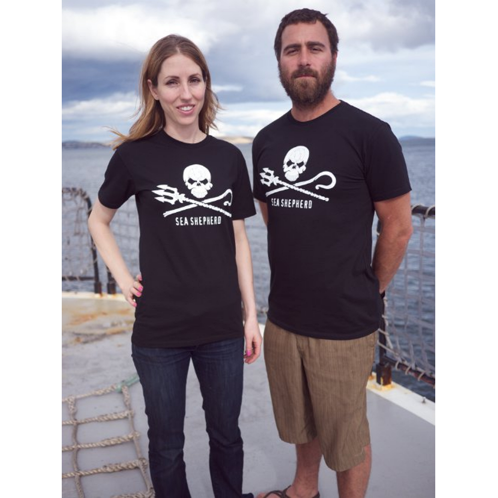 Sea Shepherd Sea Shepherd Jolly Roger Short Sleeve T-shirt - 100% Organic Cotton