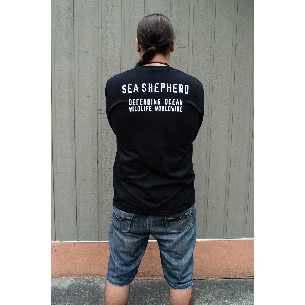 Men's Sea Shepherd Jolly Roger Long-Sleeve T-shirt