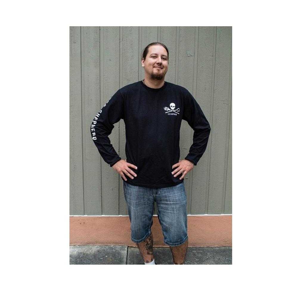 Men%27s Sea Shepherd Jolly Roger Long-Sleeve T-shirt