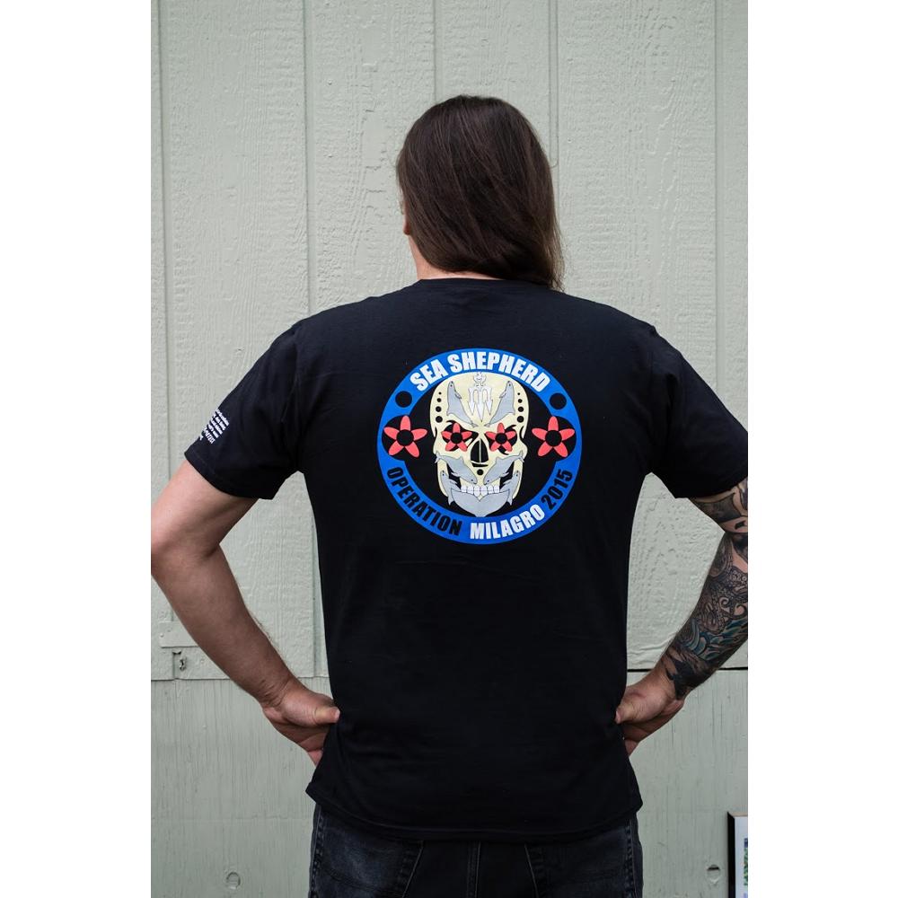 Operation Milagro 2015 T-shirt - 100% Organic Cotton