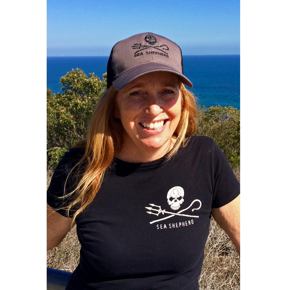 Sea Shepherd Jolly Roger Truckers Hat