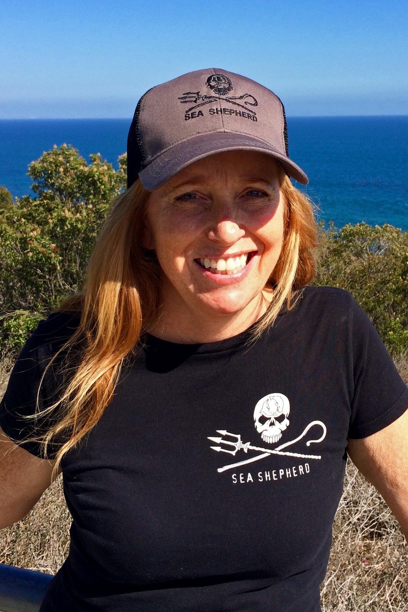 Sea Shepherd Jolly Roger Truckers Hat  - 160143