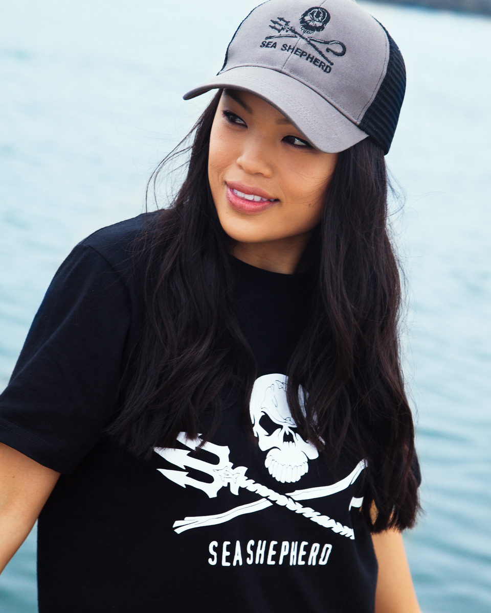 Sea Shepherd Jolly Roger Truckers Hat