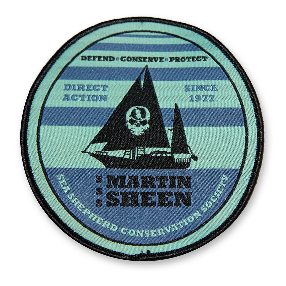 Sea Shepherd R/V Martin Sheen Patch