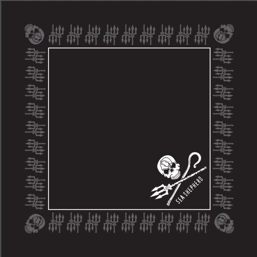 Sea Shepherd Jolly Roger Bandana