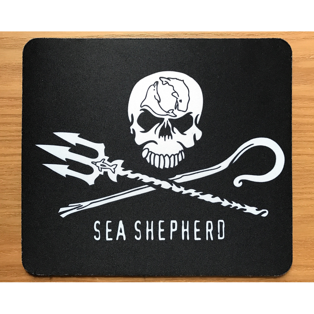 Sea Shepherd Jolly Roger Mouse Pad
