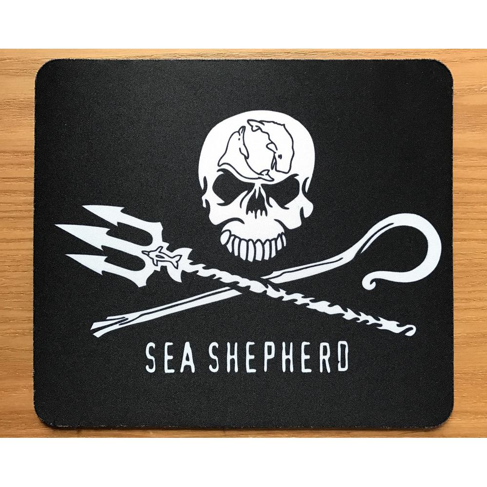 Sea Shepherd Jolly Roger Mouse Pad