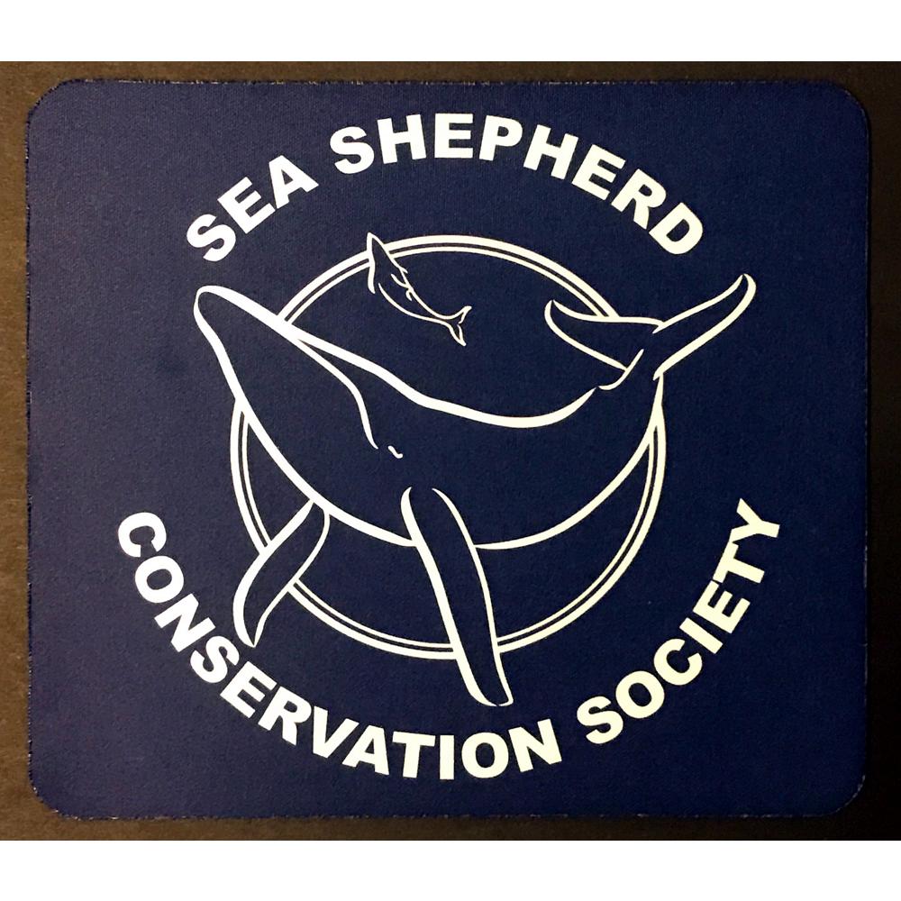 Sea Shepherd Classic Logo Mouse Pad