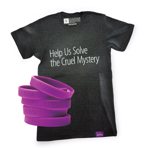 Cruel Mystery of Lupus T-Shirt and Wristband