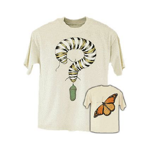 Monarch Watch Monarch Metamorphosis Adult T-Shirt