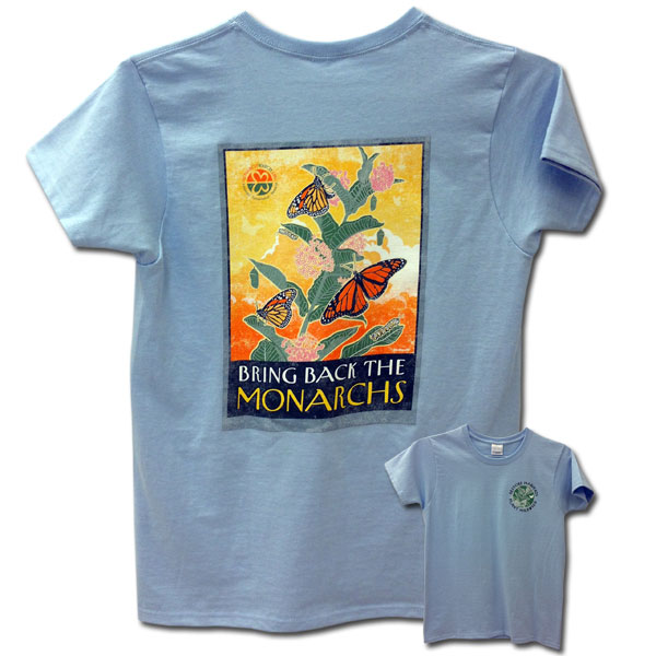 Bring Back the Monarchs Ladies T-Shirt