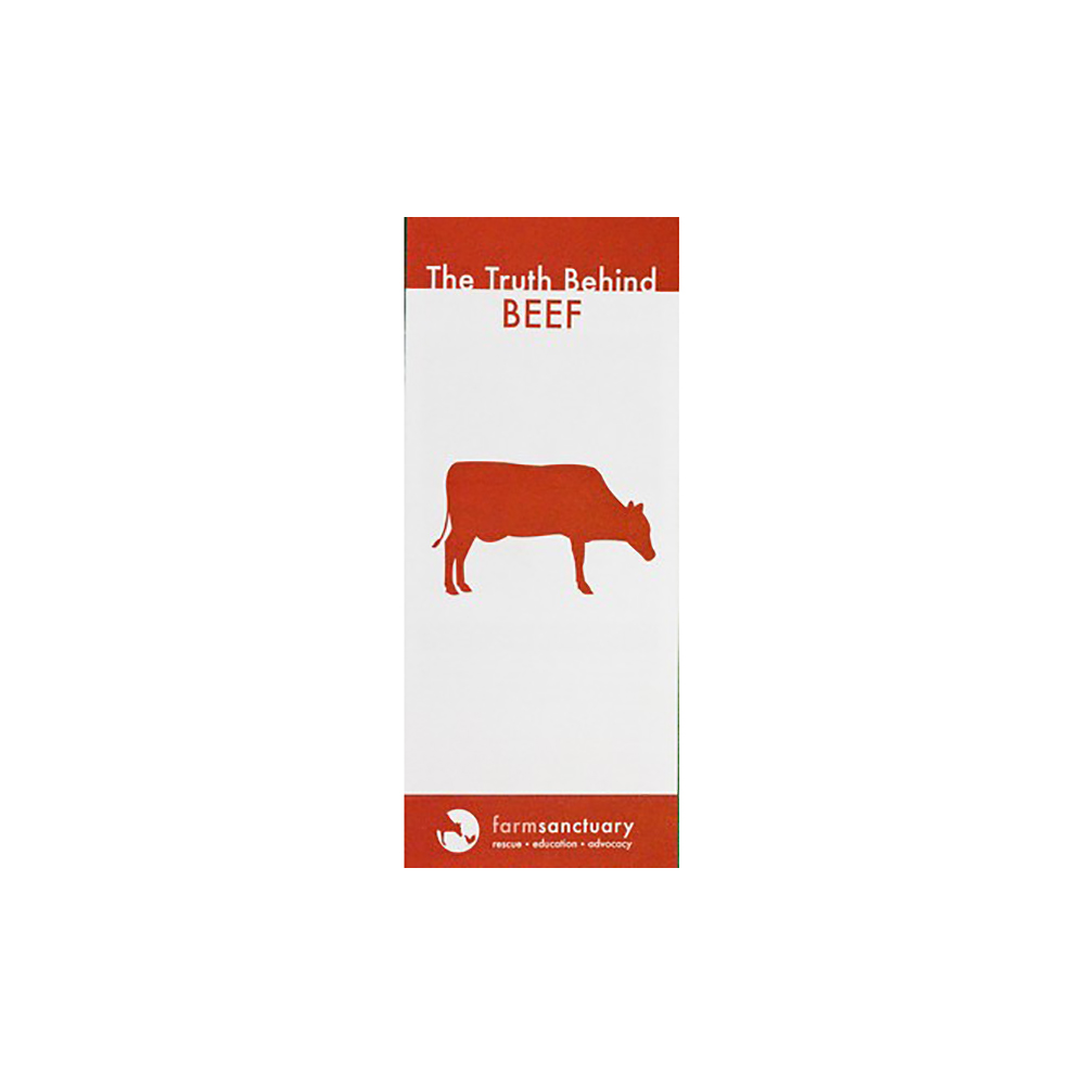 The Truth Behind Beef Brochure