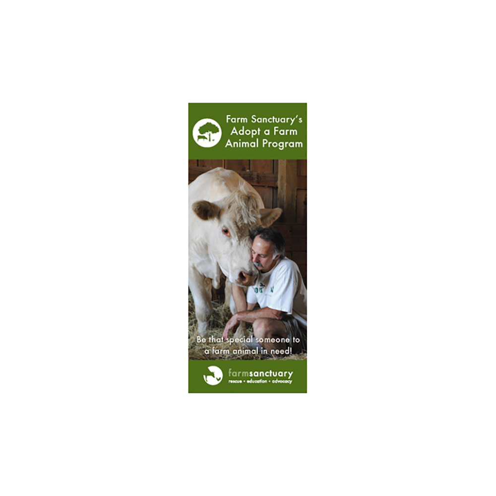 Adopt a Farm Animal Brochure