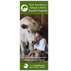 Farm Sanctuary Adopt a Farm Animal Brochure
